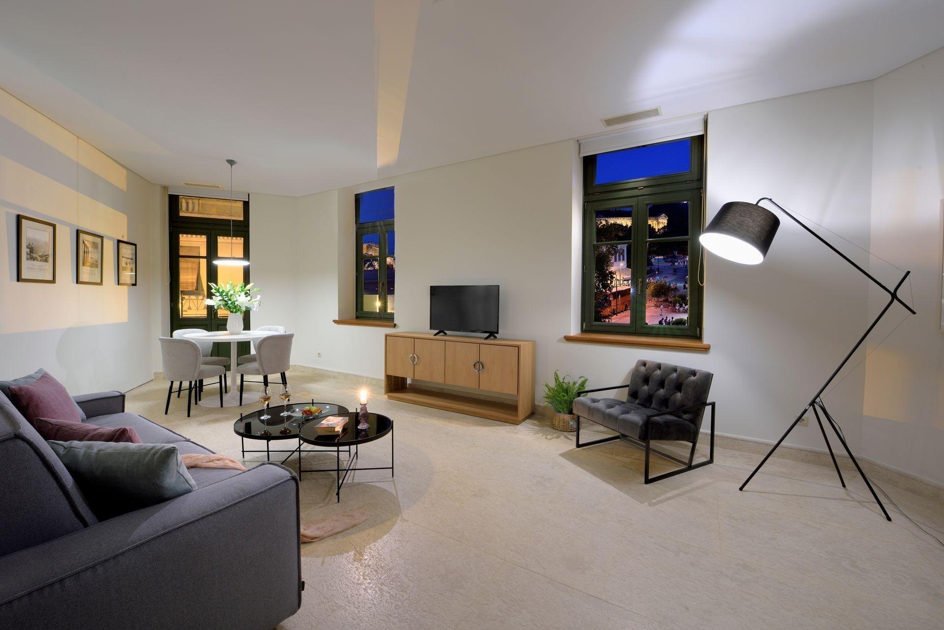 Athens Luxury Apartments Acropolis View | Thission Luxury Homes